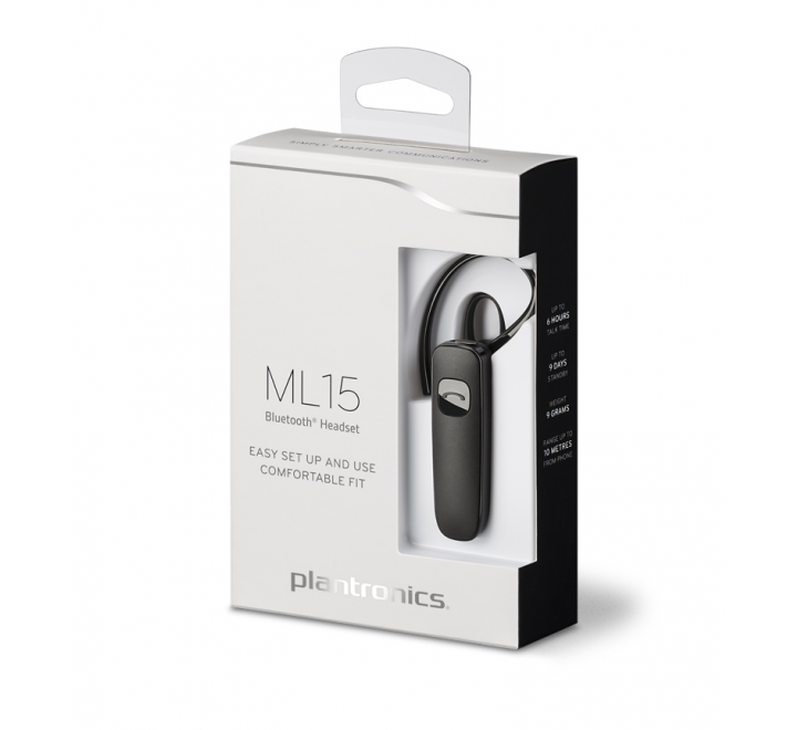 AURICOLARE BLUETOOTH PLANTRONICS ML15
