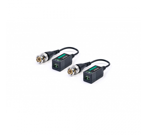 VIDEO BALUN 1CH AHD/CVI/TVI 1080P UP TO 300m CON CAVO MACH POWER VS-VB202P-HD
