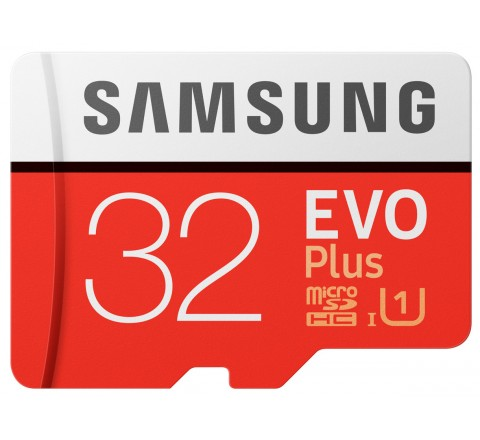 MEMORY CARD MICRO SDXC 32GB C10 SAMSUNG EVO PLUS MB-MC32GA/EU