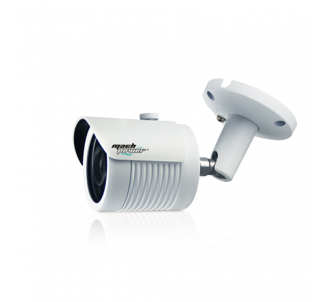 MACH POWER BULLET IP CAMERA 2.1MP, 1/2.8 SONY STARVIS BACK-ILLUMINATED CMOS SENSOR AMBARELLA S3L LOW-STREAM HDR HD LENS WITH IR-CUT BOARD LENS 3.6MM, COLOR WHITE VS-DFB2P-195