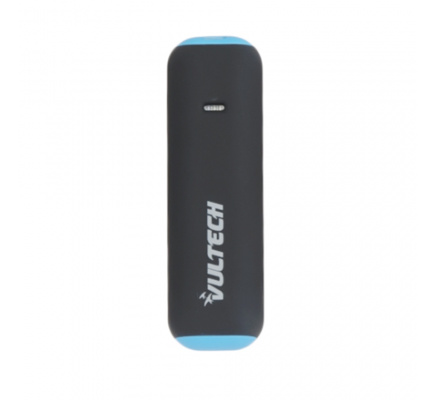 VULTECH CARICABATTERIA POWER BANK 2600MAH NERO E BLU PB-2600B REV 2.1